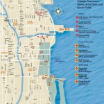 Chicago Downtown Map   Printable Street Map Of Downtown Chicago