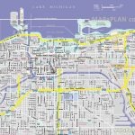 Chicago Maps   Top Tourist Attractions   Free, Printable City Street Map   Printable Street Maps Free