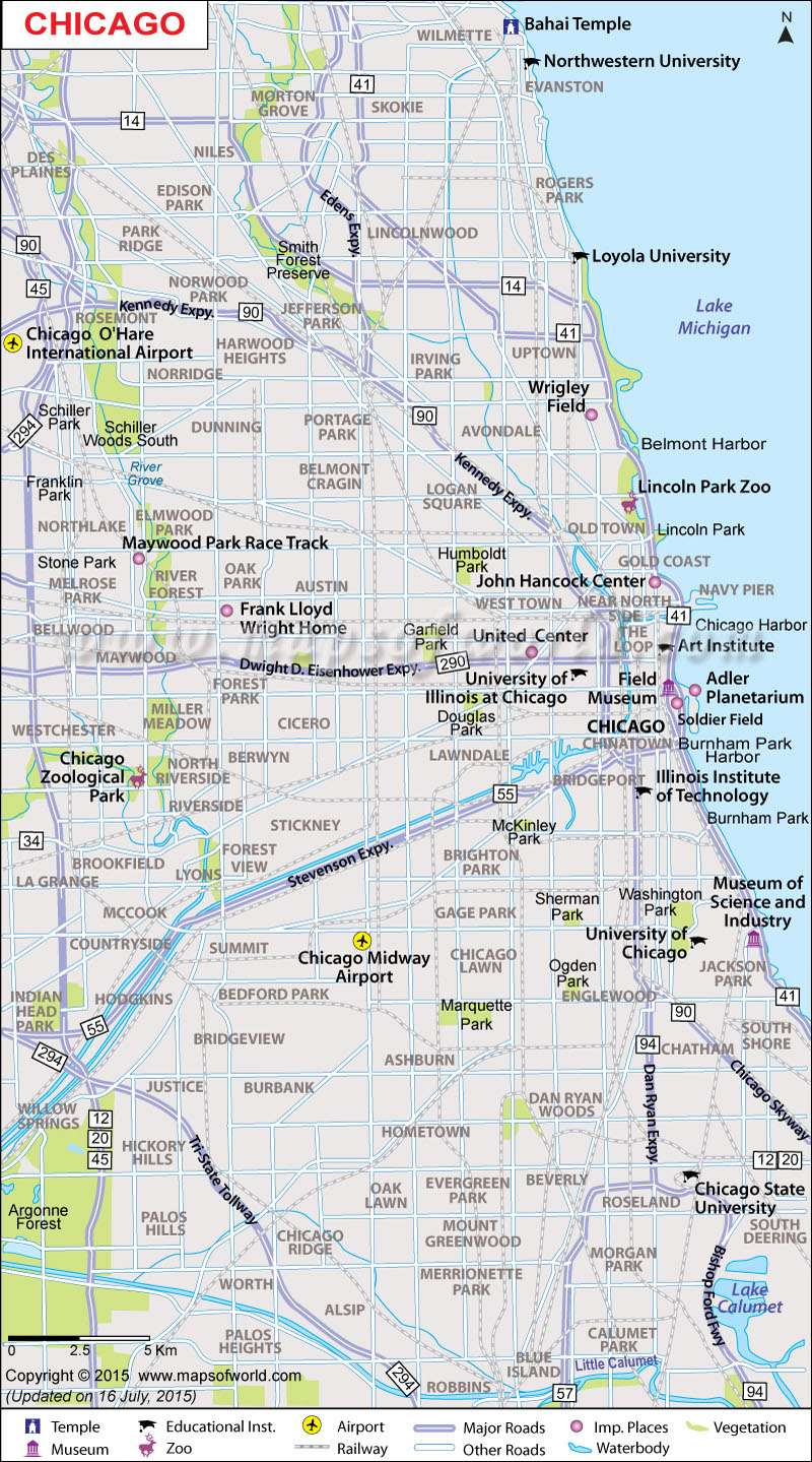 Chicago Street Maps | World Map Photos And Images - Printable Street Map Of Downtown Chicago