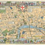 Children's Map Of London | Mapping London   Printable Children's Map Of London