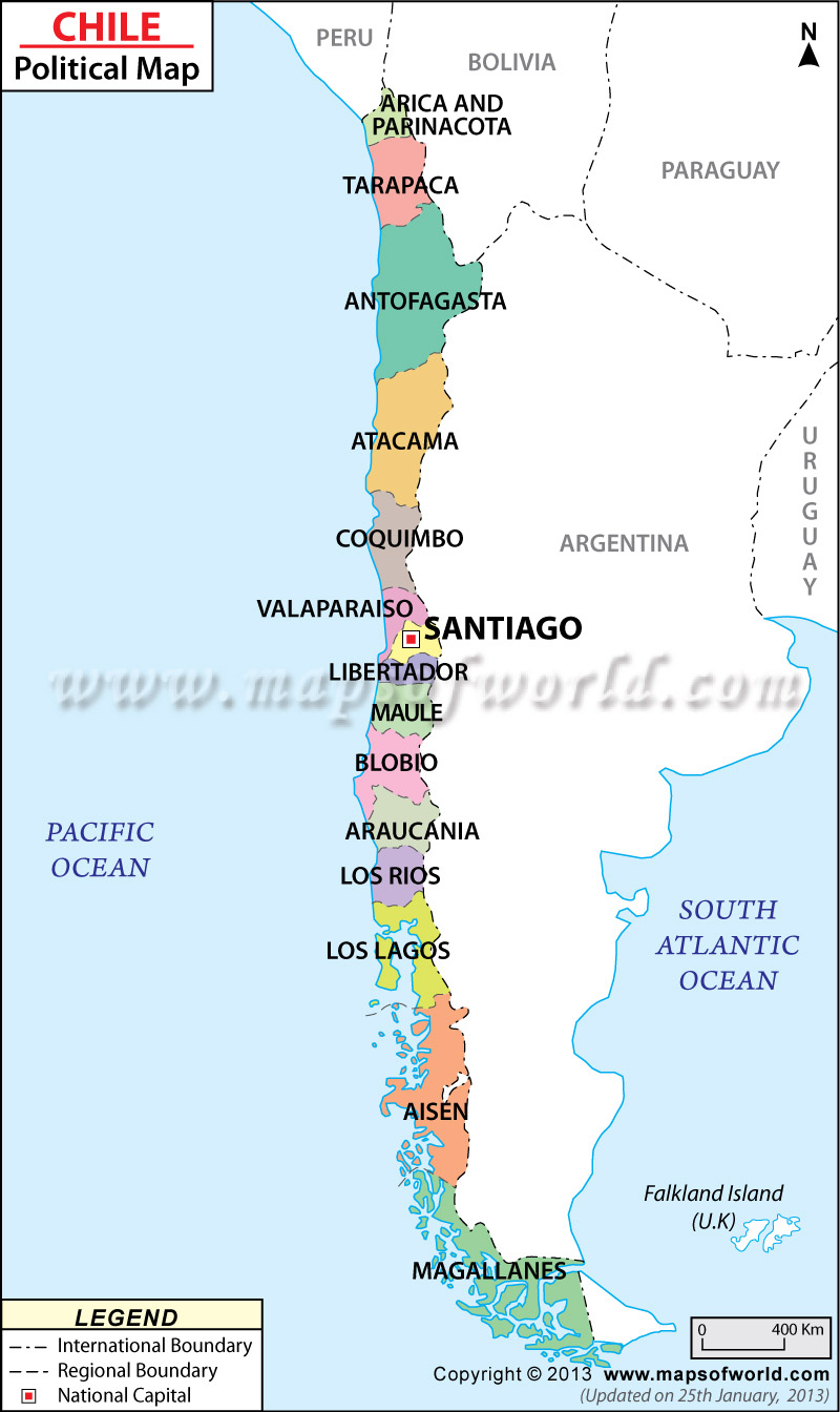 Chile By: Sarah Lopiccolo: Text, Images, Music, Video | Glogster Edu - Printable Map Of Chile