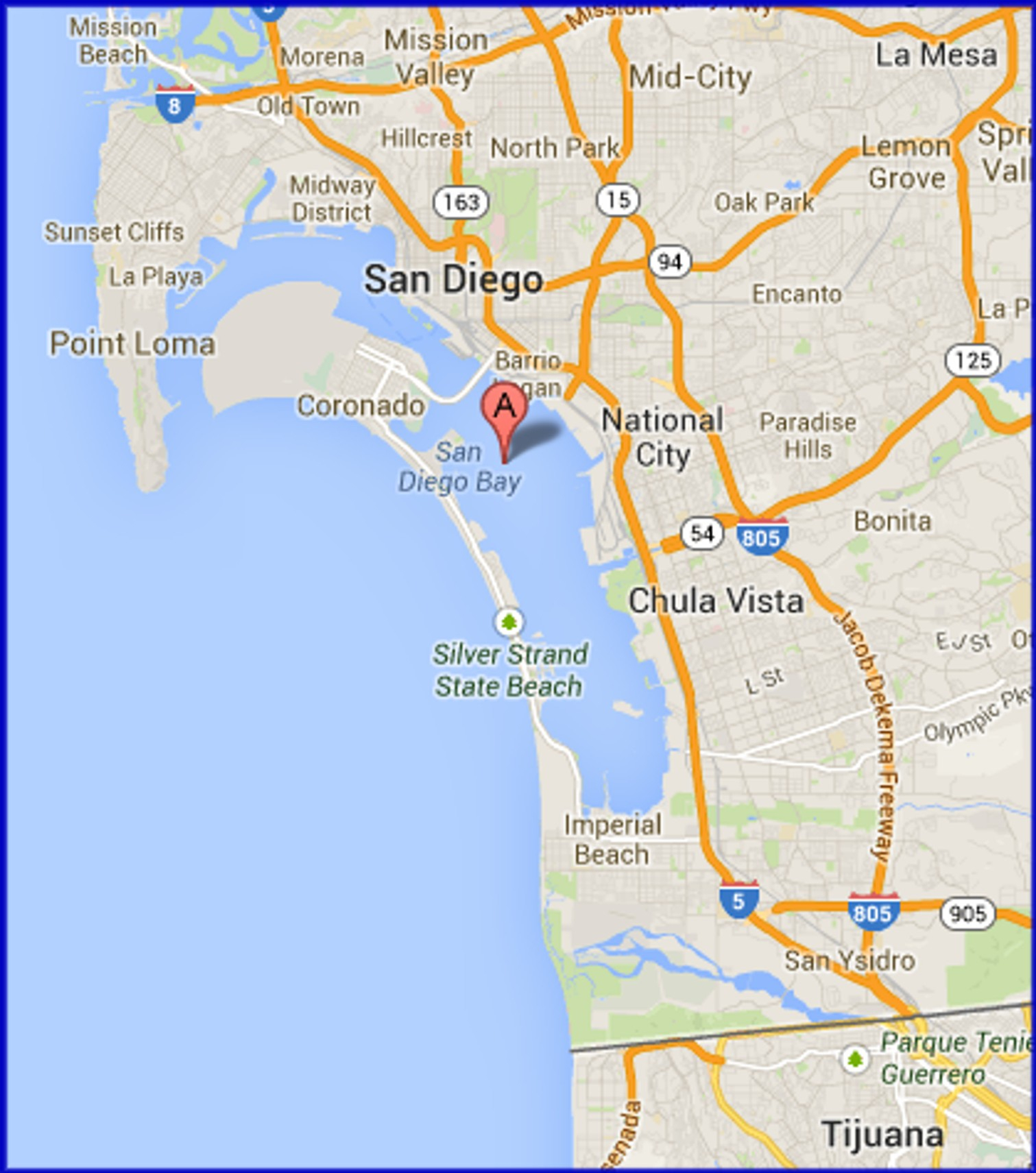 Cities Communities Neig Map Of California Springs San Diego - City Map Of San Diego California