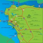 Cities Of The East Bay   Map Of Bay Area California Cities