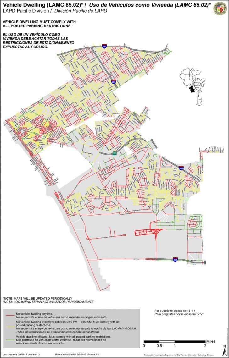 Map Of Venice California Area
