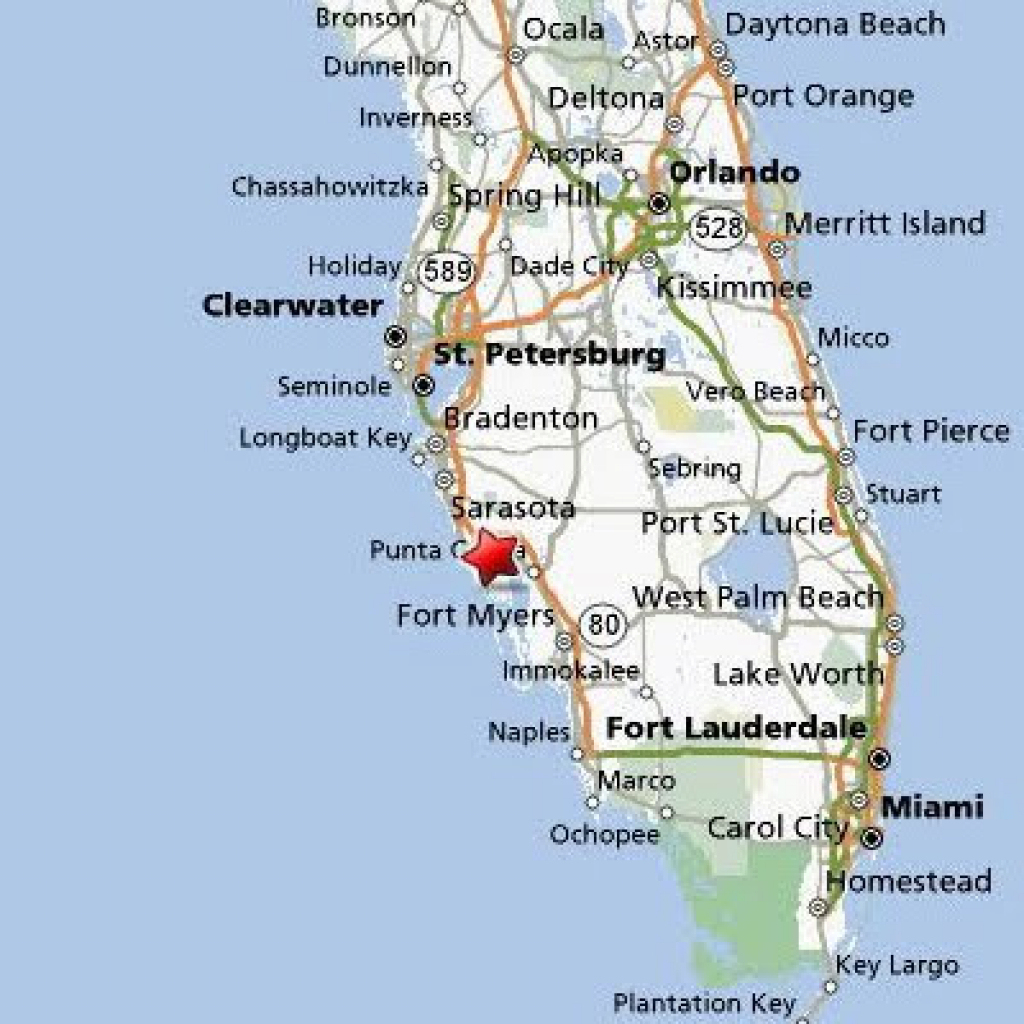 City Map Of Punta Gorda Florida - Link-Italia - Where Is Punta Gorda Florida On A Map