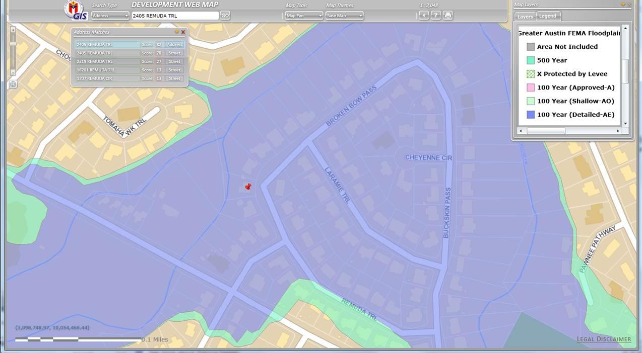 City Of Austin Texas Floodplain Map - Link-Italia - Round Rock Texas Flood Map