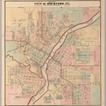 City Of Rockford, Illinois.   David Rumsey Historical Map Collection   Printable Map Of Rockford Il