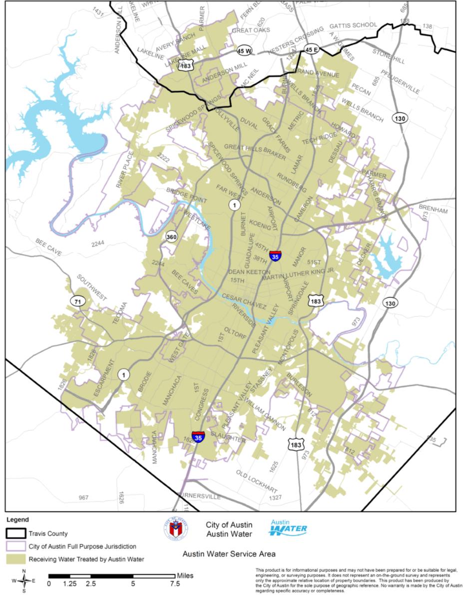 City Of Round Rock Water Customers Unaffectedaustin Boil Notice - Georgetown Texas Map
