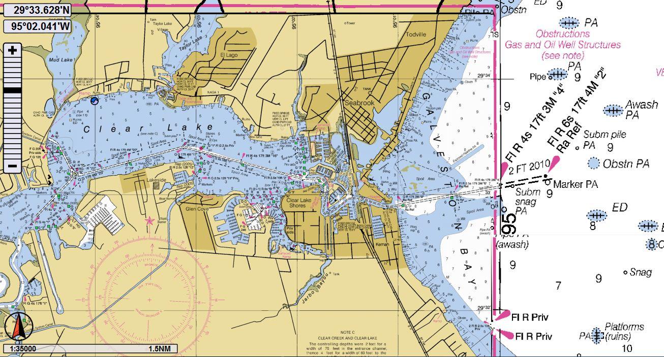 Clear Lake | Texags - Clear Lake Texas Map