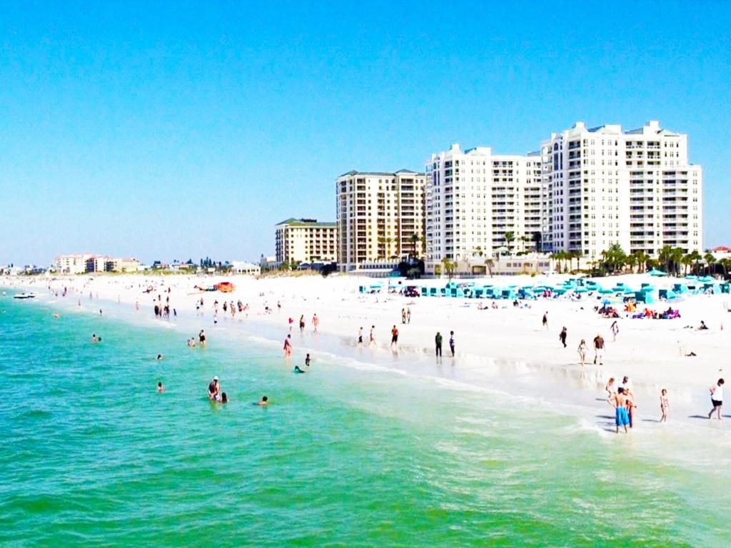 Clearwater Beach Florida Map   Beach Destination - Clearwater Beach Florida Map
