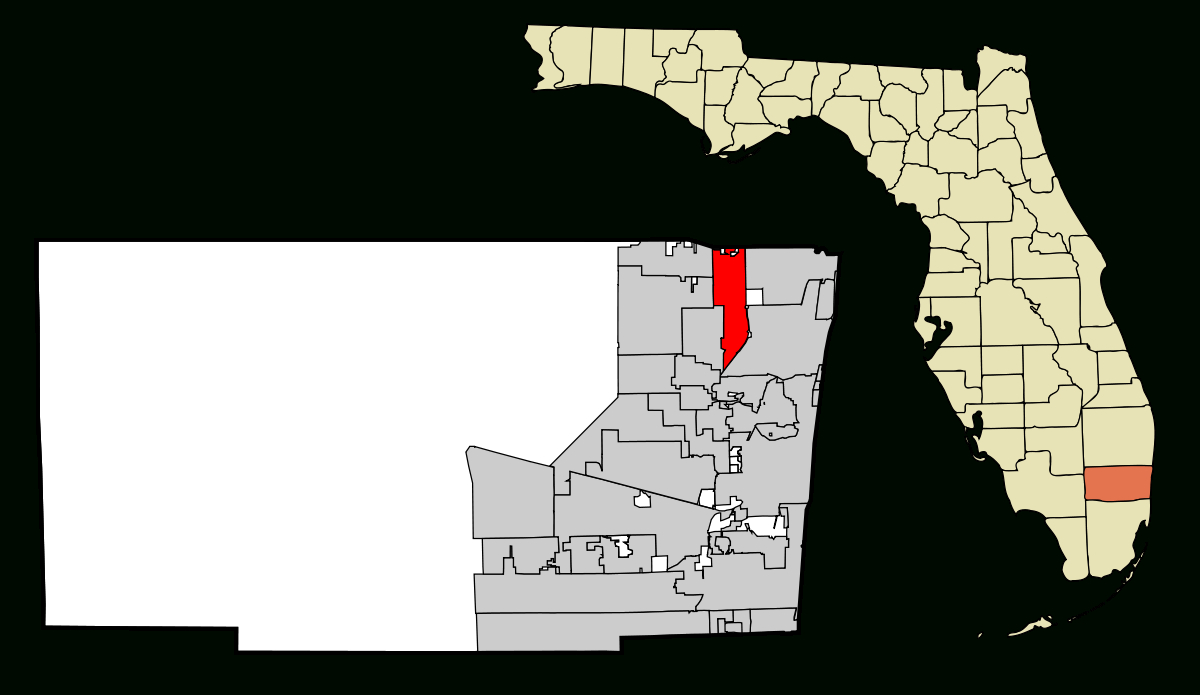 Coconut Creek, Florida - Wikipedia - Coconut Creek Florida Map