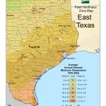 Cold Hardiness Zone Map |   Usda Map Texas