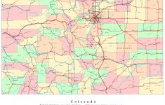 Colorado Printable Map – Printable Road Maps