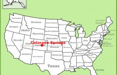 Colorado Springs Location On The U.s. Map – Springs Map Florida