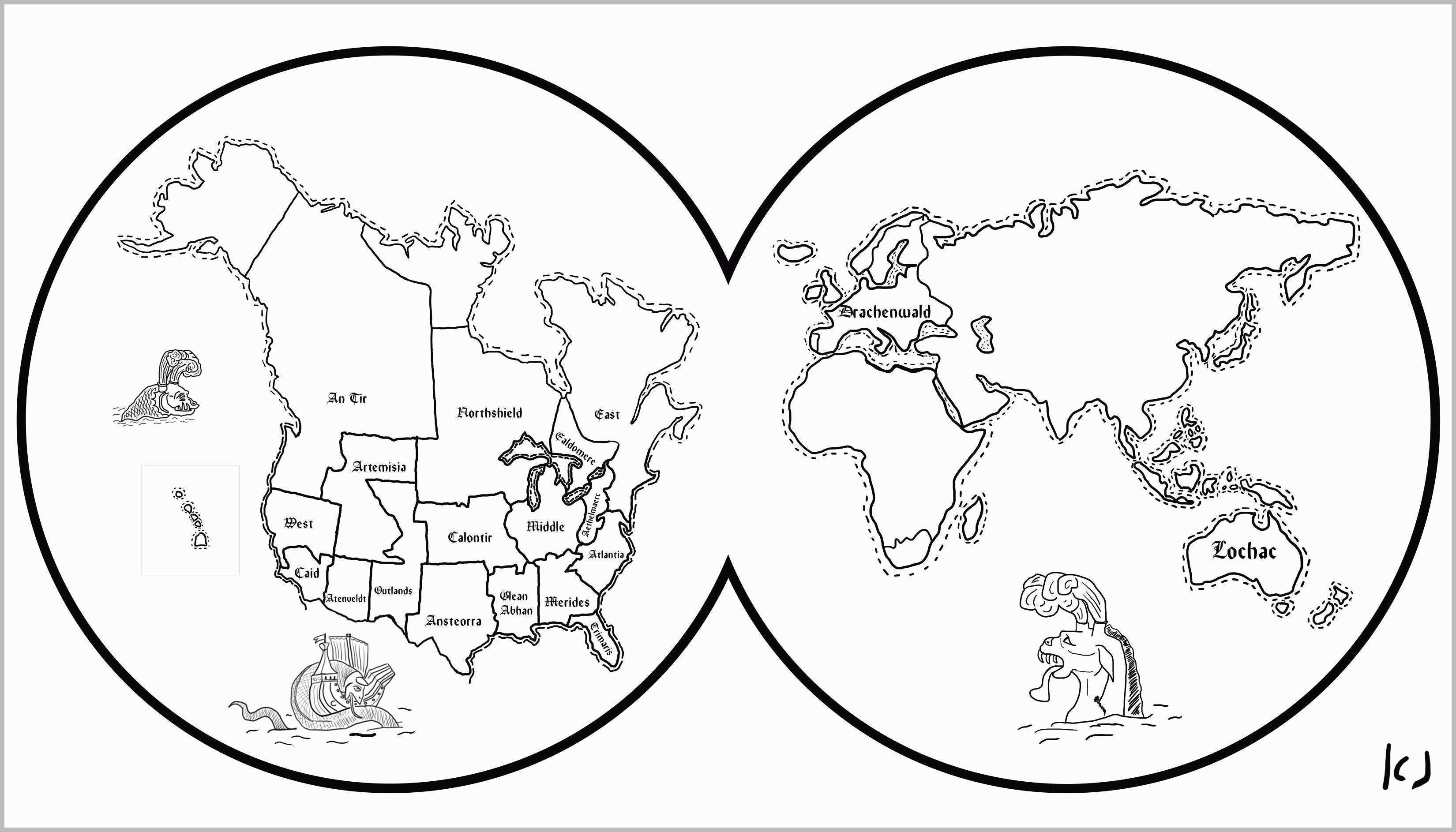 Coloring Pages ~ World Map Printable Color Countries Of The Ks2 New - Coloring World Map Printable