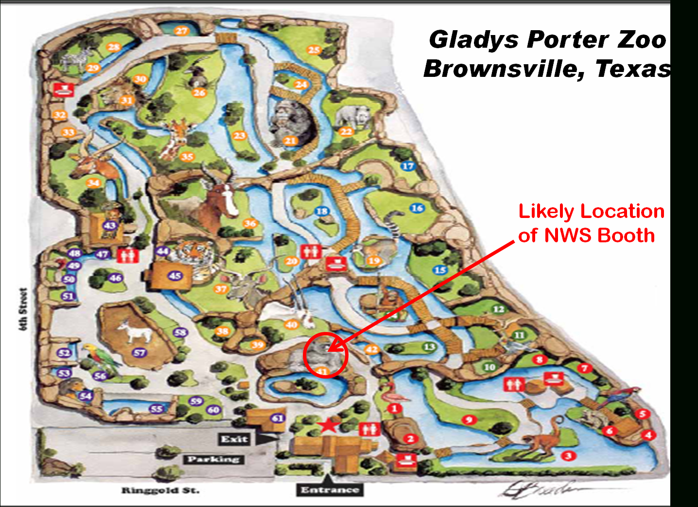 Come See Nws Brownsville/rio Grande Valley At Boo At The Zoo 2010 - Porter Texas Map