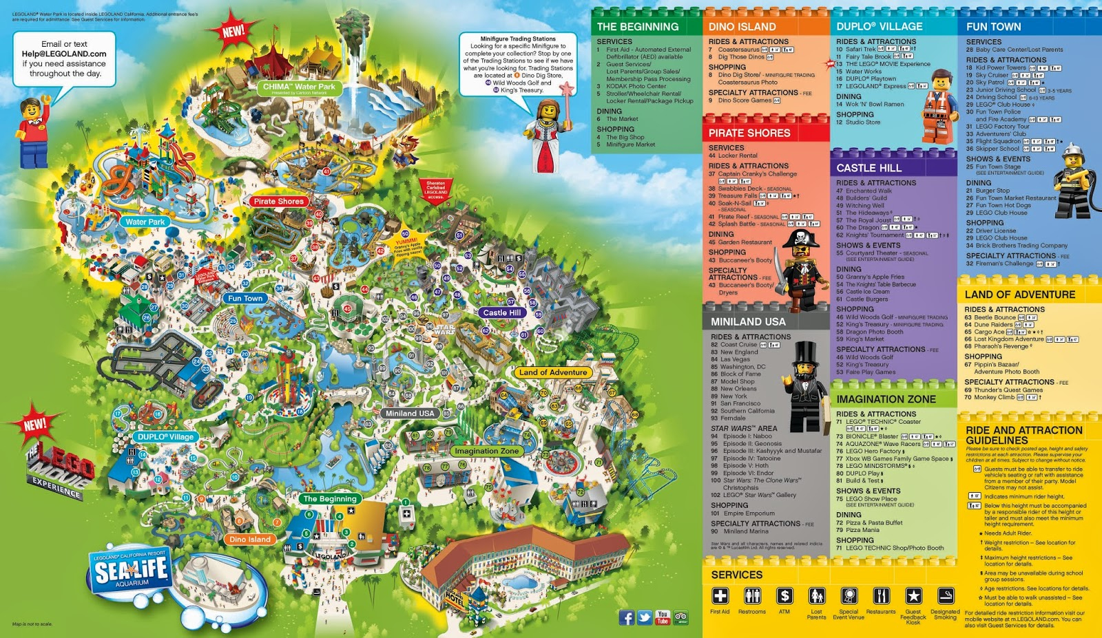 Coming Soon Our Trip To Maps Of California Legoland California - Legoland Map California 2018