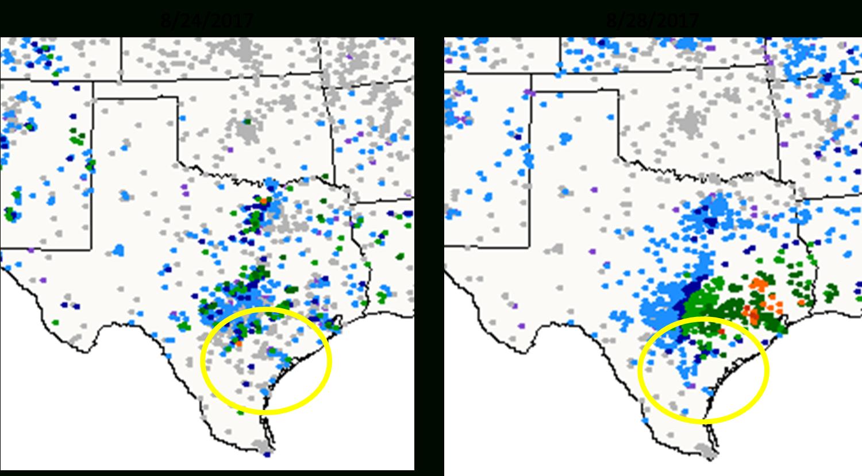 Community Collaborative Rain, Hail & Snow Network: Cocorahs - Hail Maps Texas