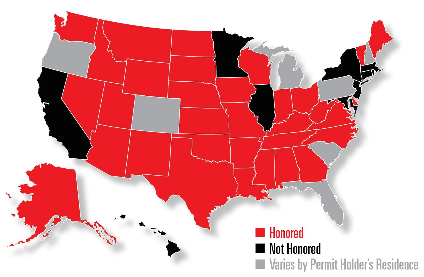 Concealed Carry Class In Hammond, In | My Legal Heat - Florida Non Resident Ccw Reciprocity Map