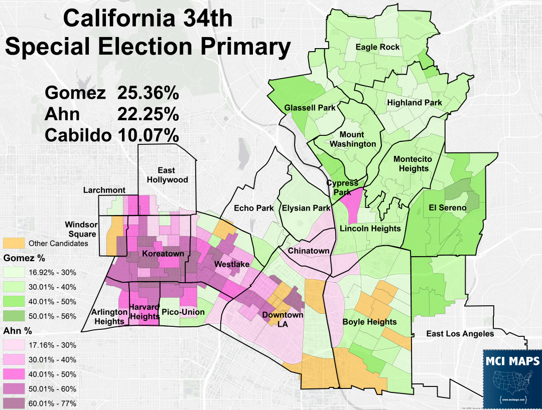 Congressional – Mci Maps - California 25Th District Map