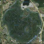 Contour Lake Maps Of Florida Lakes   Bathymetric Maps, Boat Ramp   Fishing Map Of Lake Okeechobee Florida