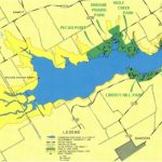 Corps Of Engineer Parks   Corps Of Engineers Campgrounds Texas Map