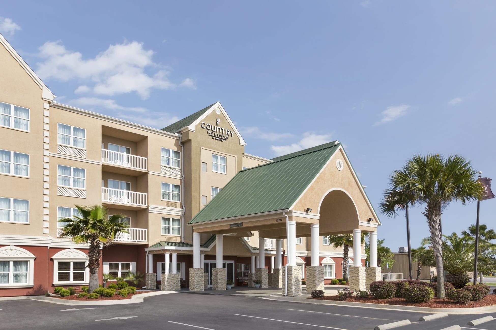 Country Inn & Suitesradisson, Panama City Beach, Fl, Florida - Country Inn And Suites Florida Map