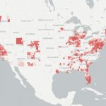 Coverage & Availability Map | Broadbandnow   Florida Cell Phone Coverage Map