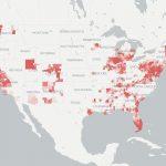 Coverage & Availability Map   Broadbandnow   Verizon Fios Availability Map Florida