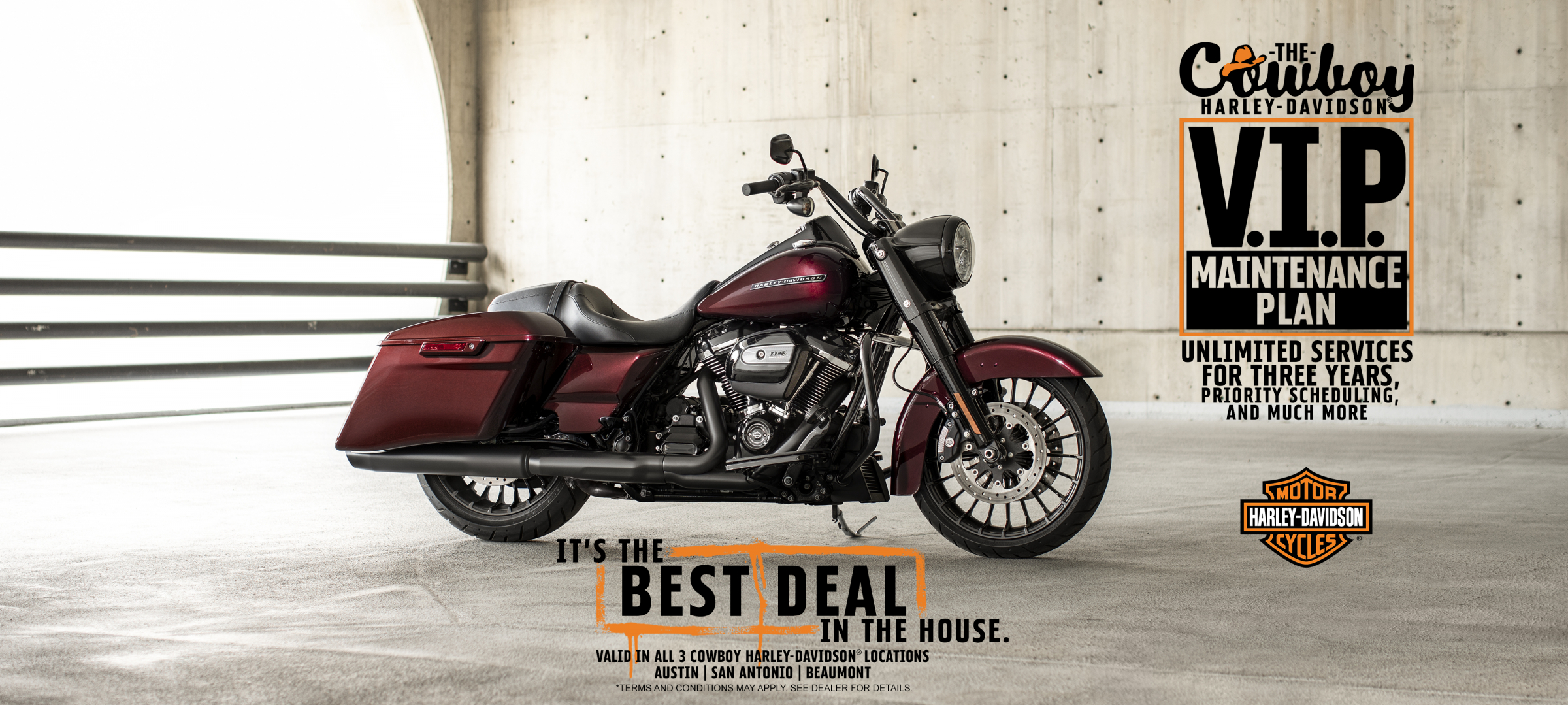 Cowboy Harley-Davidson® Of Austin - Texas Harley Davidson Dealers Map