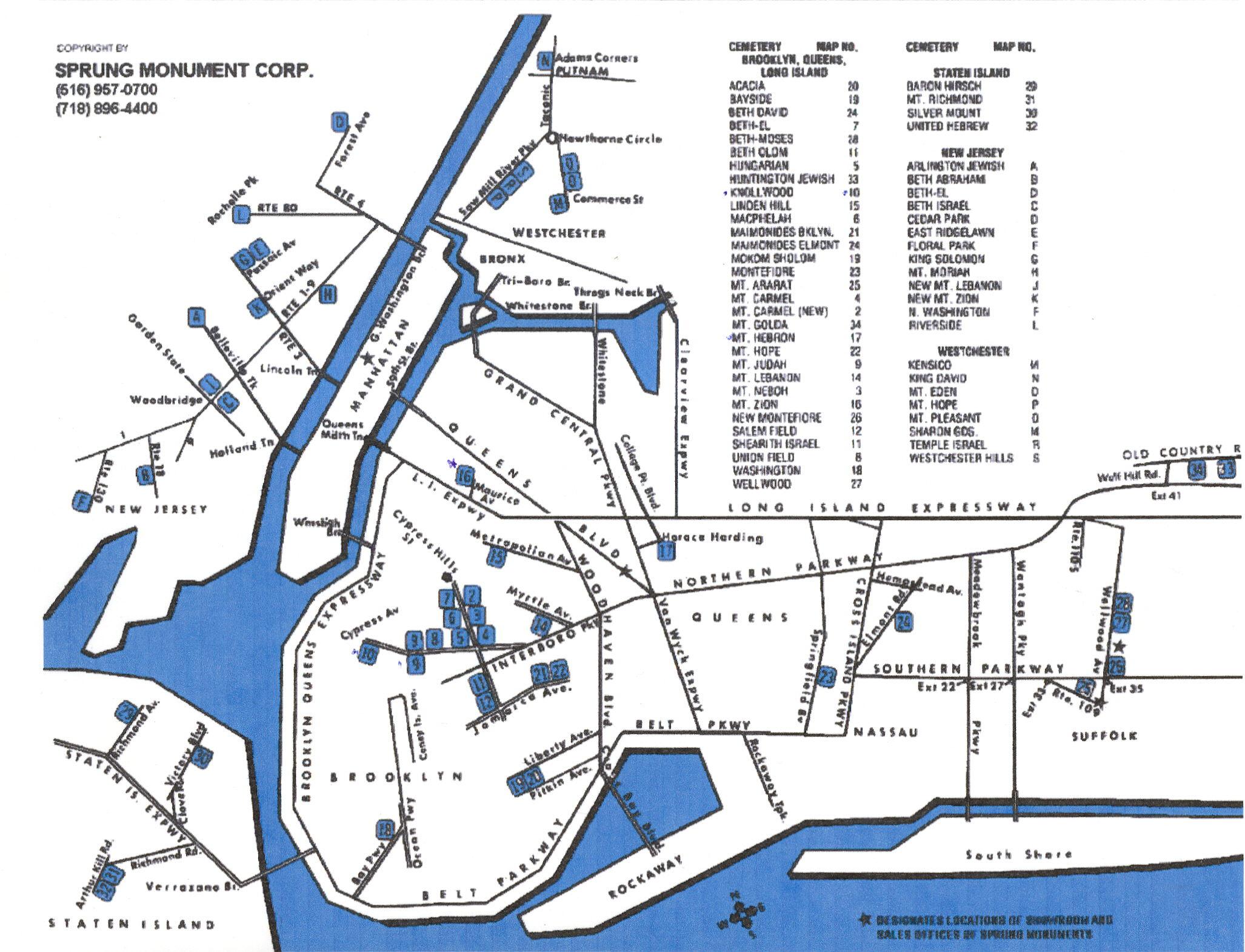Cp/maps/ny-Nj - Florida National Cemetery Map