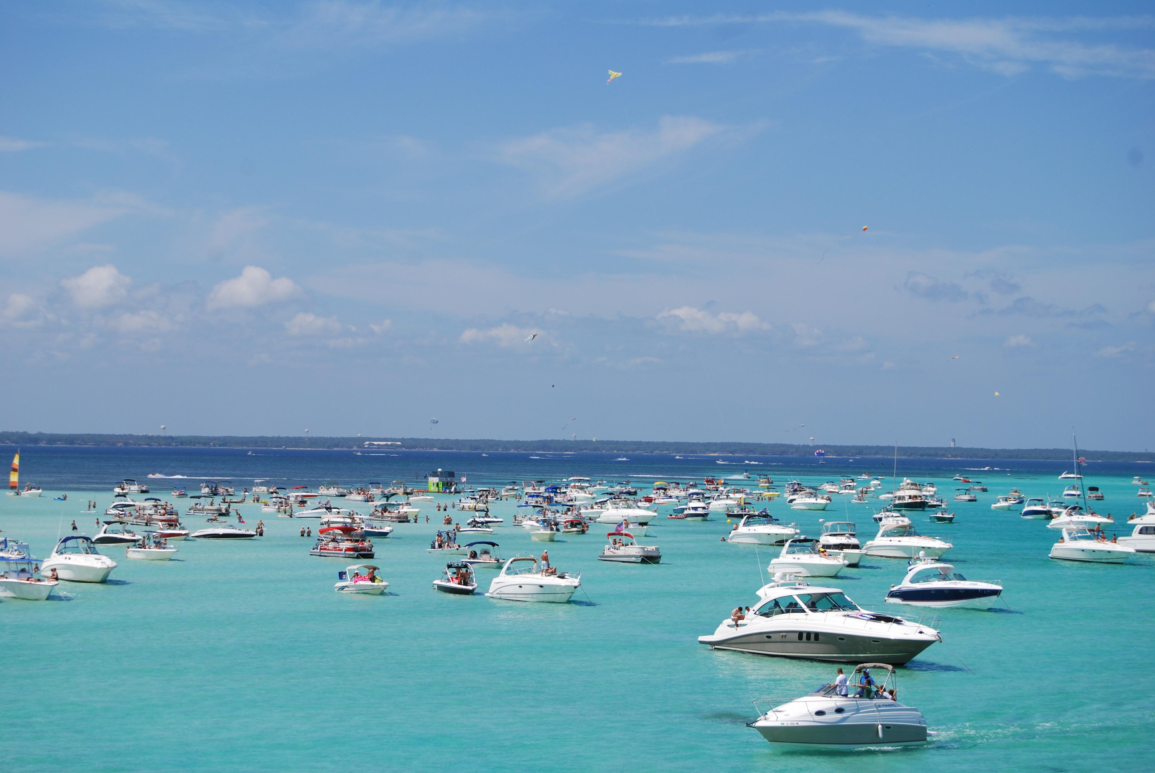 Crab Island In Destin Florida: The Complete Visitors Guide - Destin Florida Weather Map