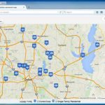 Create A Map: Easily Map Multiple Locations From Excel Data   Google Maps Dallas Texas Usa
