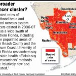 """Crooked Marco Rubio Watch On Twitter: """"matt You Still Have These 3   Map Of Cancer Clusters In Florida"""