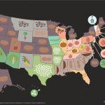 Crop Map: Who Grows What In The U.s.   Monsanto   Texas Wheat Production Map