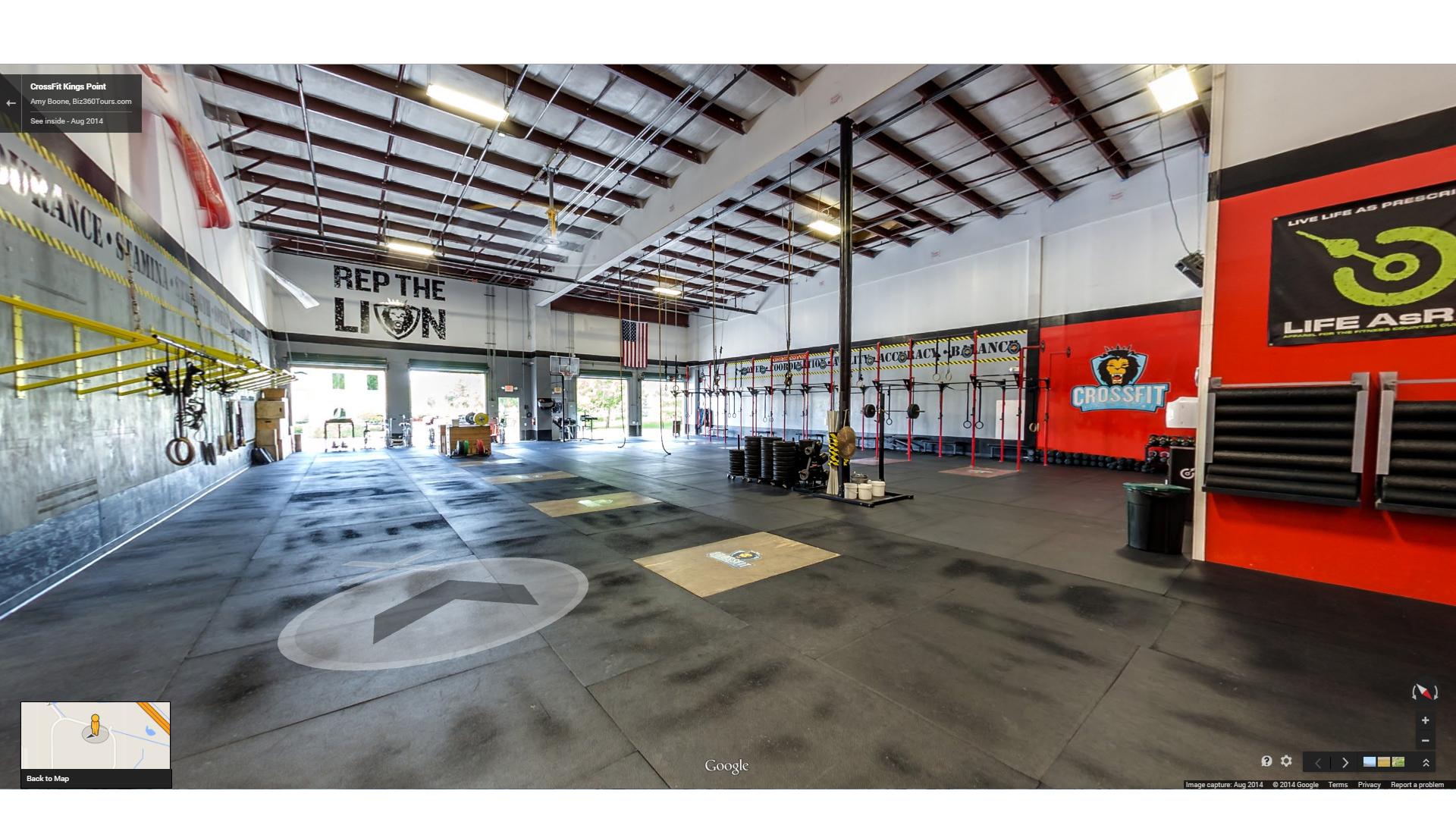 Crossfit Kings Point - Biz360Tours - Google Maps Orlando Florida Street View