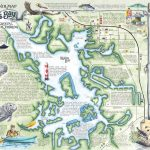 Crystal River's Spring Maps | The Souvenir Map & Guide Of Kings Bay   Florida Springs Diving Map