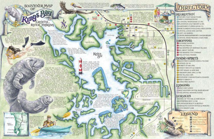 Florida Springs Diving Map