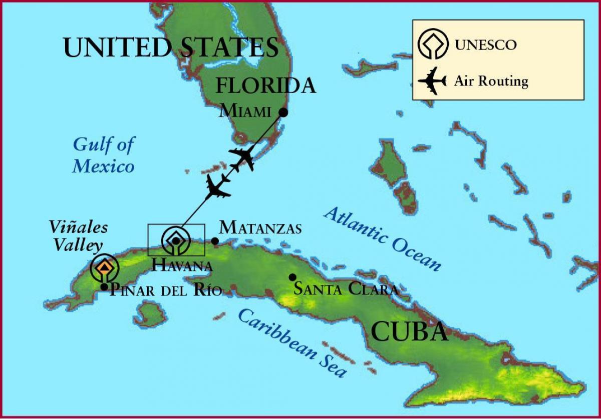 Cuba Florida Map - Map Of Cuba And Florida (Caribbean - Americas) - Map Of Florida And Caribbean