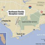 Culture Of Brutality Reigned At State Prison In Florida Panhandle   Map Chipley Florida
