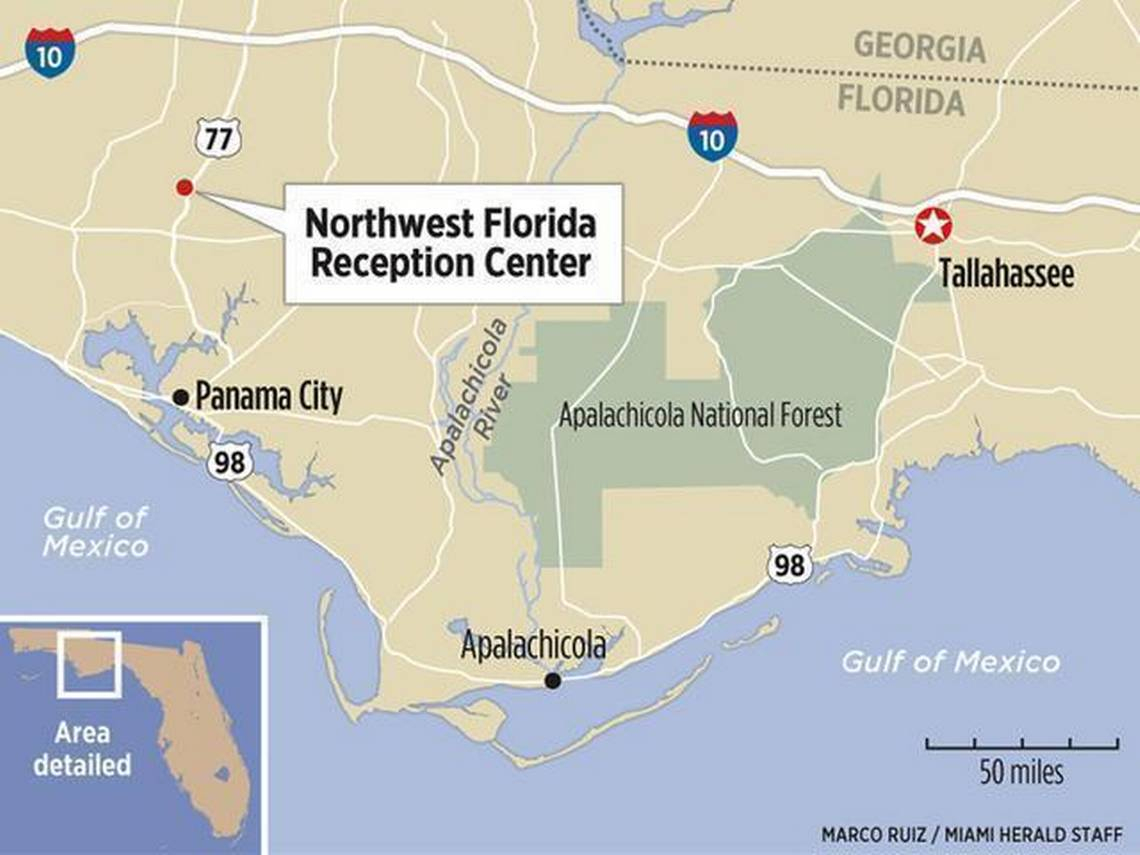 Culture Of Brutality Reigned At State Prison In Florida Panhandle - Map Chipley Florida