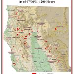 Current California Fire Map   Klipy   San Diego California Fire Map