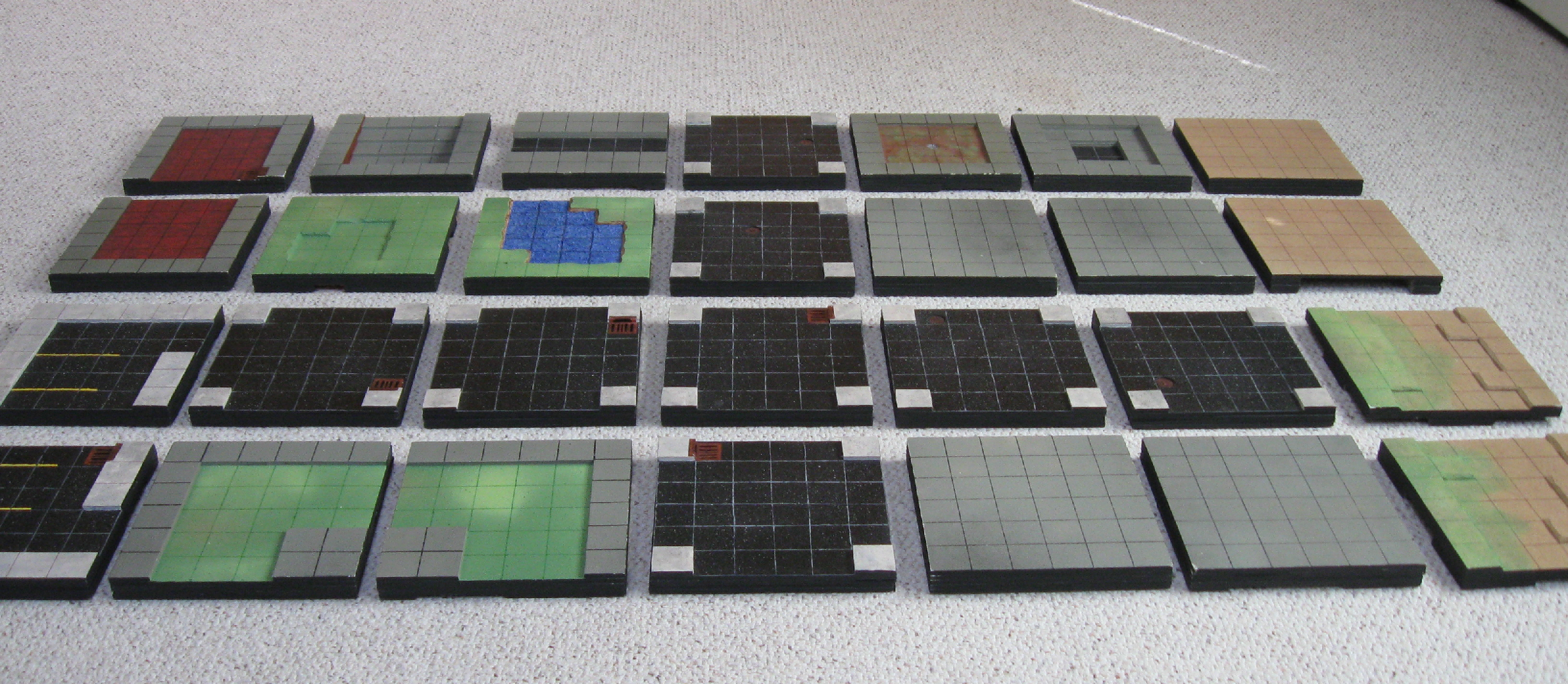 Customizable 3-D Heroclix Map | Toychop - Printable Heroclix Maps