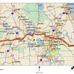 Cycling Routes Crossing Florida   Florida Destinations Map