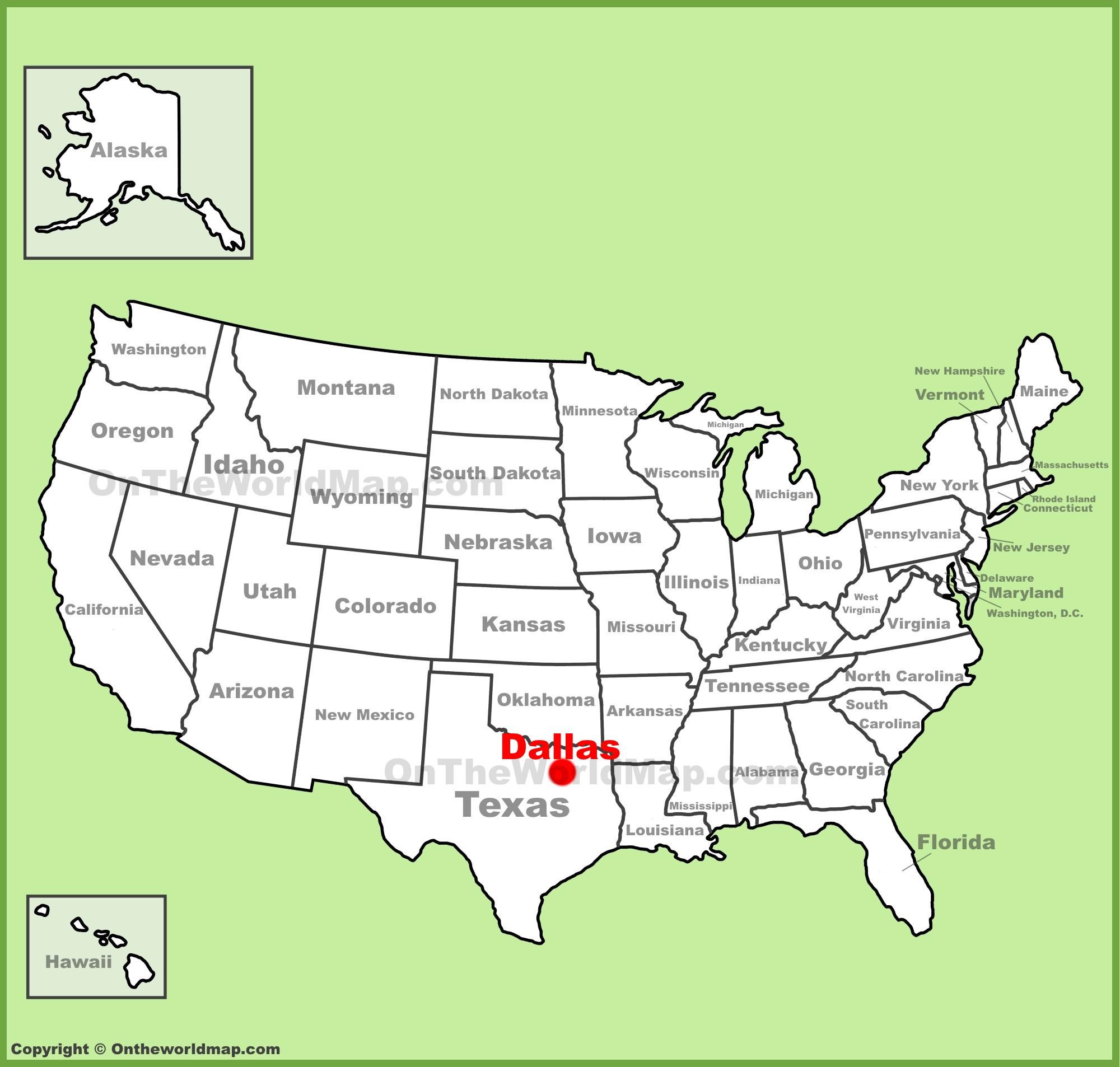 Dallas Maps | Texas, U.s. | Maps Of Dallas - Printable Map Of Dallas