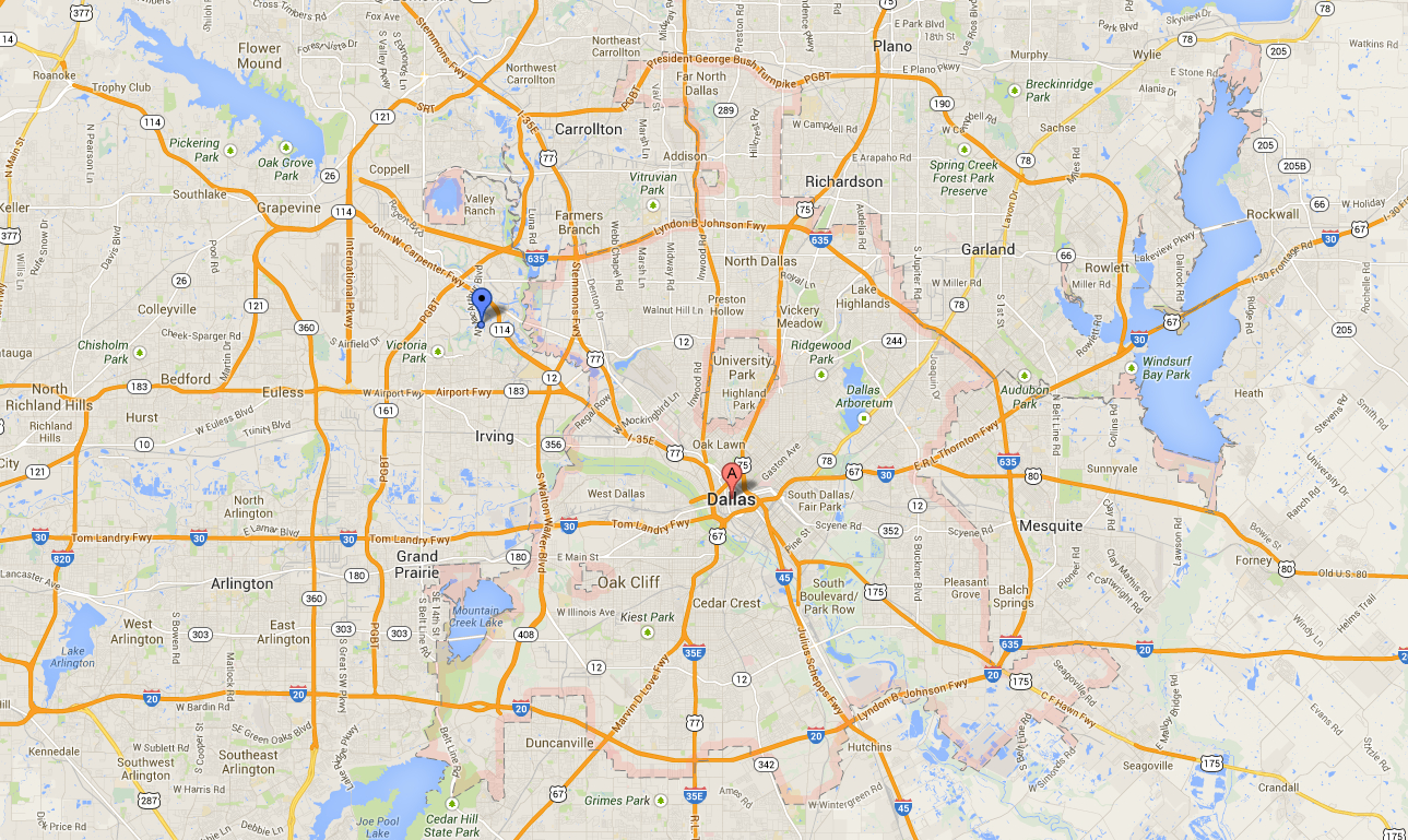 Dallas Texas Maps Google Business Ideas 2013 Google Maps