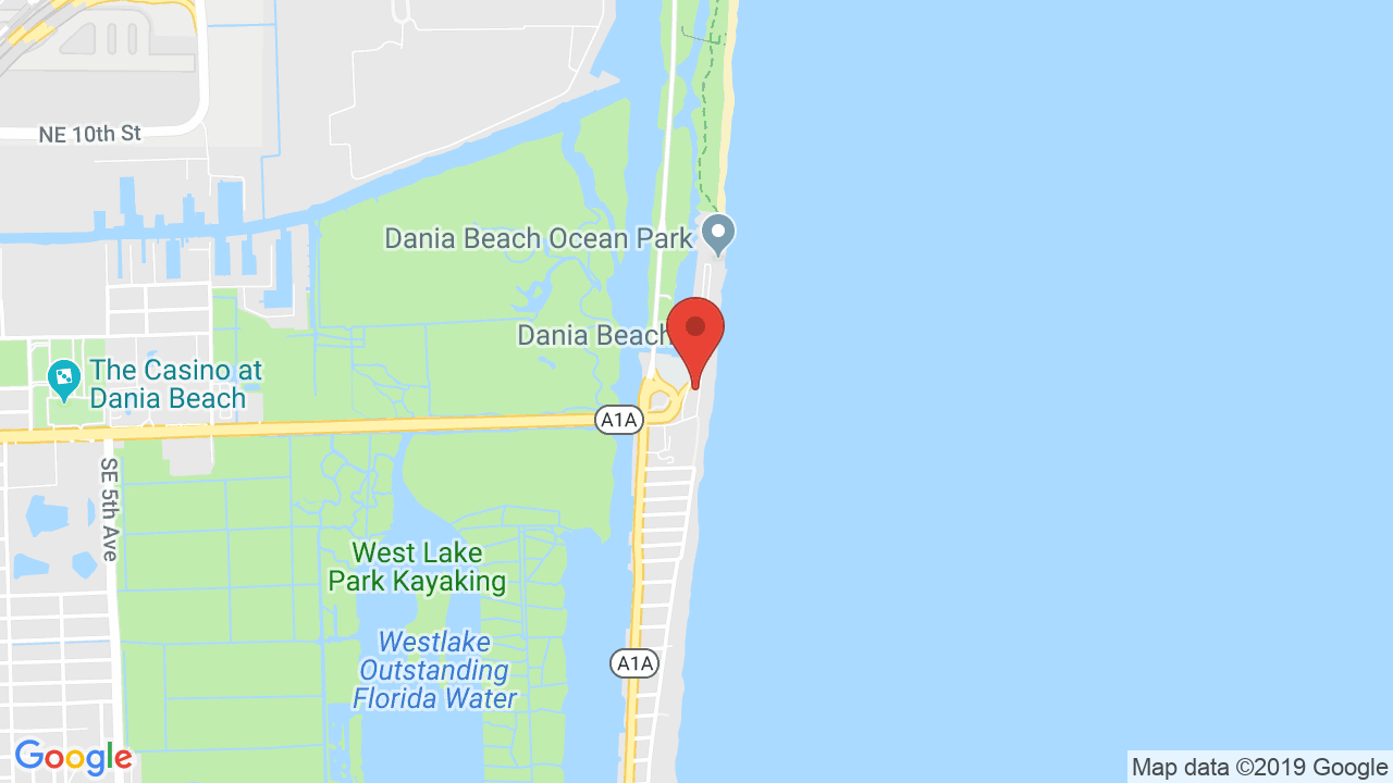 Dania Beach Bar & Grill - Shows, Tickets, Map, Directions - Dania Beach Florida Map
