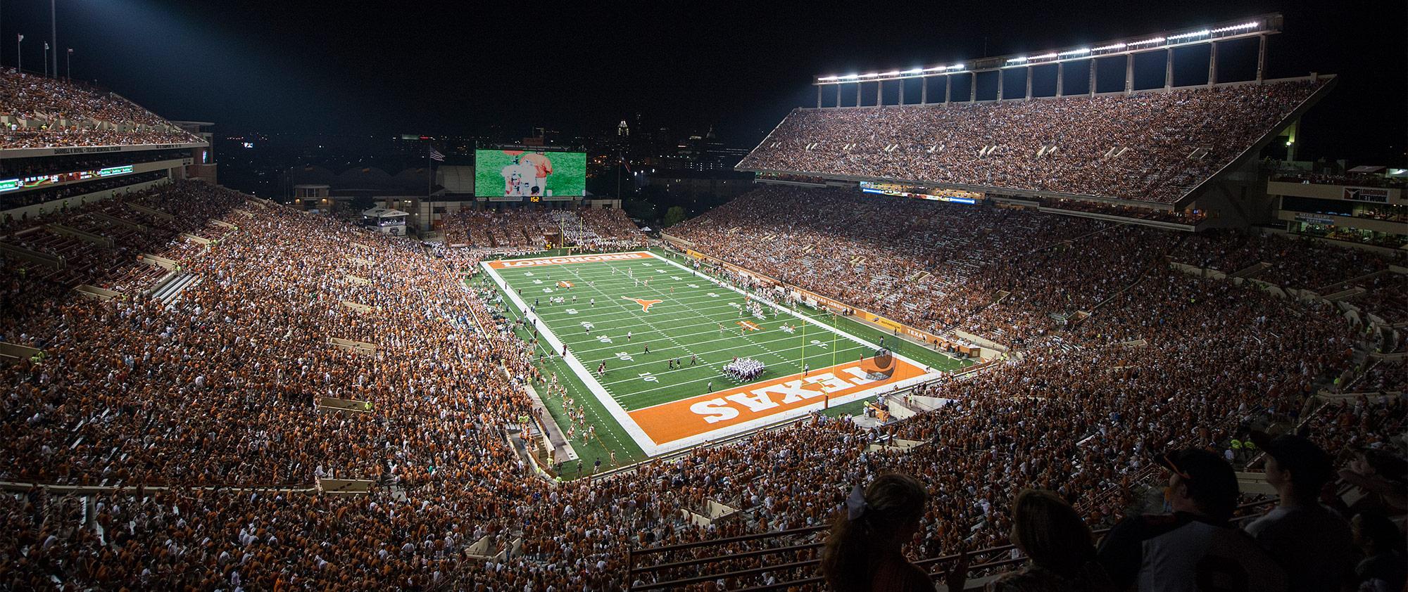 Darrell K Royal-Texas Memorial Stadium At Joe Jamail Field - Dkr Texas Memorial Stadium Map