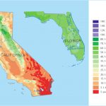Davidson Brothers: California Vs Florida Oranges, What's The Difference?   Florida Orange Groves Map