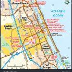 Daytona Beach Florida Area Map Stock Vector (Royalty Free) 139162133   Map Of Daytona Beach Florida